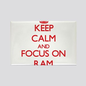 Keep Calm and focus on Ram Magnets