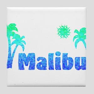Malibu (Ocean) Tile Coaster