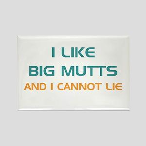 Big Mutts Rectangle Magnet