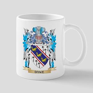 Dawe Coat of Arms - Family Crest Mugs