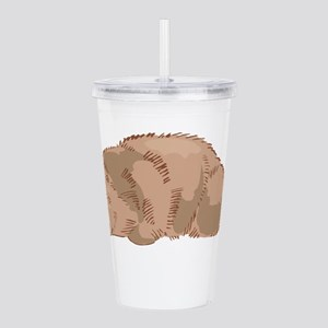 Cute Beaver Acrylic Double-wall Tumbler