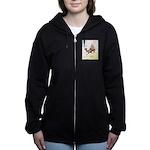 Camel Art Women's Zip Hoodie