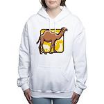 Camel Women's Hooded Sweatshirt