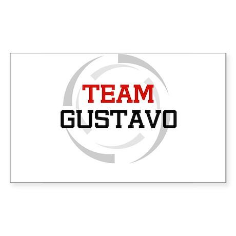 Gustavo Rectangle Sticker