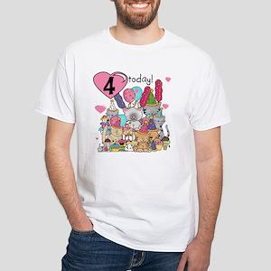 Kittens 4th Birthday T-Shirt