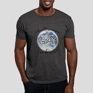 Shih Tzu World2 Dark T-Shirt