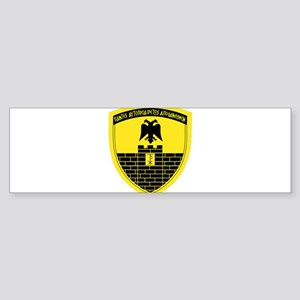 16th Mechanized Infantry Division Bumper Sticker