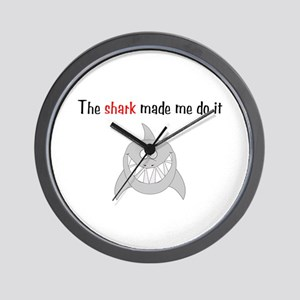 The shark made me do it Wall Clock