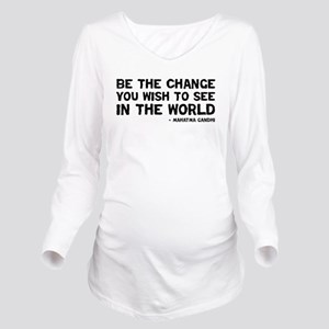 Quote - Gandhi - Change T-Shirt