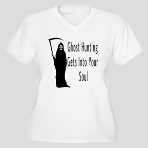 Ghost Hunting Gets Into Your Women's Plus Size V-