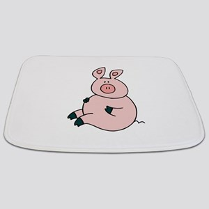 Cute Pig Bathmat