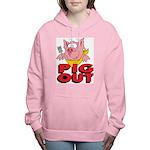 Pig Out Women's Hooded Sweatshirt