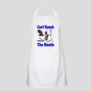 Cant Knock The Hustle-Blue BBQ Apron