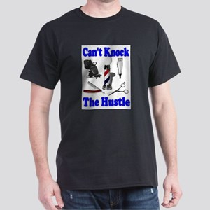 Cant Knock The Hustle-Blue Dark T-Shirt