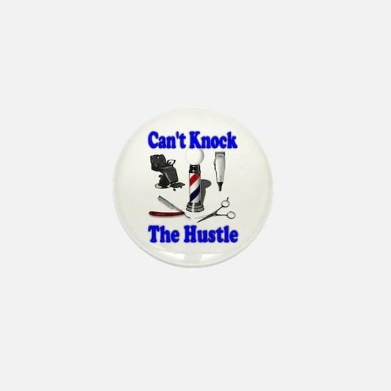 Cant Knock The Hustle-Blue Mini Button