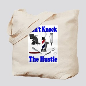Cant Knock The Hustle-Blue Tote Bag