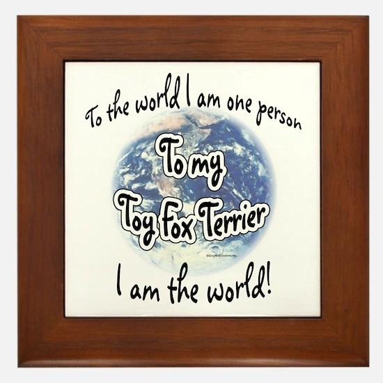 Toy Fox World2 Framed Tile