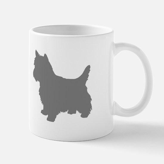 cairn terrier gray 2 Mugs