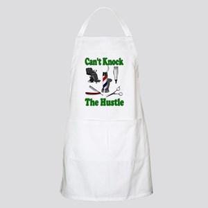Cant Knock The Hustle-Green BBQ Apron