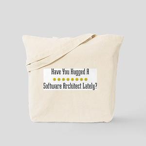 Hugged Software Architect Tote Bag
