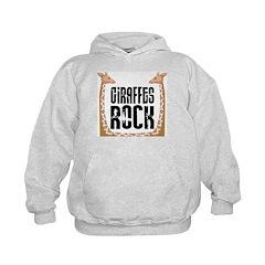 Giraffes Rock Hoodie