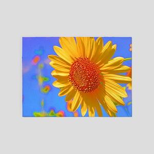 Wild Colors Sunflower 5'x7'Area Rug