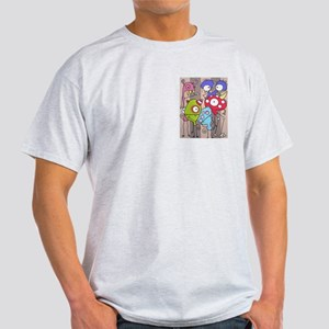 Cartoon Monsters light t-shirt