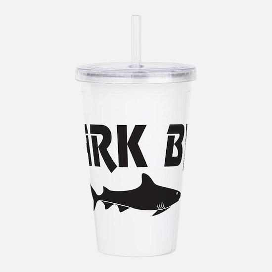 Shark Byte Acrylic Double-wall Tumbler