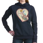 Cupid Love Women's Hooded Sweatshirt