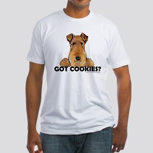 Lakeland Terrier Cookies Fitted T-Shirt