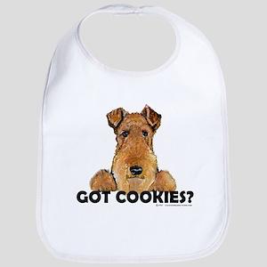 Lakeland Terrier Cookies Bib
