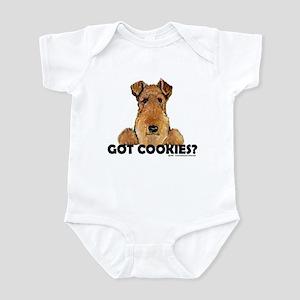 Lakeland Terrier Cookies Infant Bodysuit
