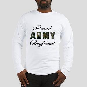 Proud Army Boyfriend Long Sleeve T-Shirt