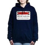 Attitude Vegetarian Women's Hooded Sweatshirt