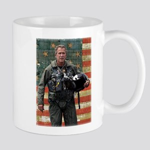 George W. Bush Patriotic Mug