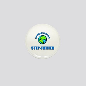 World's Best STEP-FATHER Mini Button