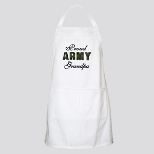 Proud Army Grandpa BBQ Apron