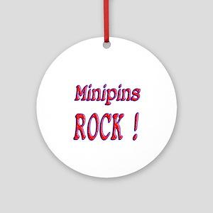 Minipins Ornament (Round)