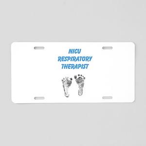 NICU Therapist Aluminum License Plate