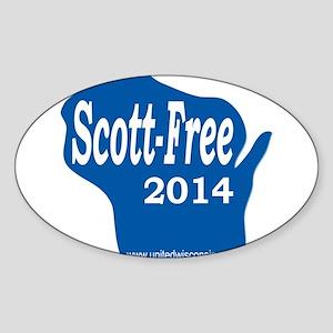 Scott-Free Wisconsin Sticker