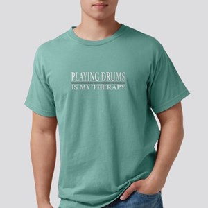 Playing Drums Is My Therapy Funny Drummer T-Shirt