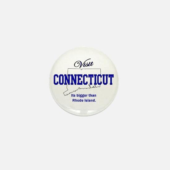 Visit Connecticut . . . Its B Mini Button
