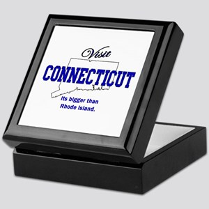 Visit Connecticut . . . Its B Keepsake Box