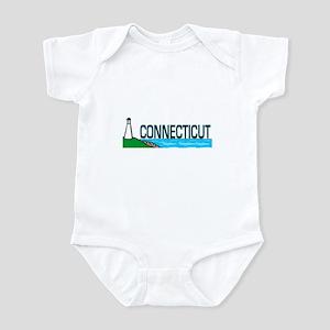 Connecticut Ligthouse Infant Bodysuit