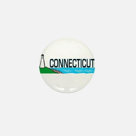 Connecticut Ligthouse Mini Button