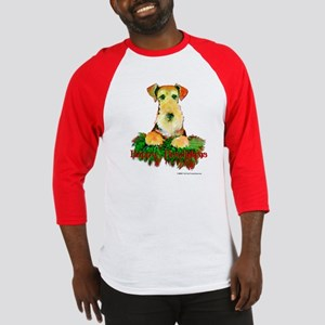 Airedale Holiday Baseball Jersey
