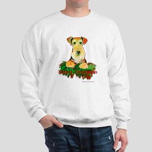 Airedale Holiday Sweatshirt