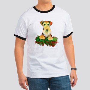Airedale Holiday Ringer T