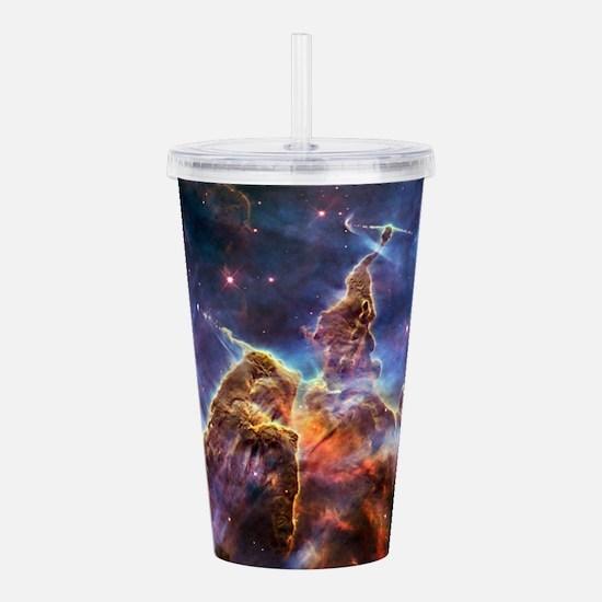 Carina Nebula (High Res) Acrylic Double-wall Tumbl