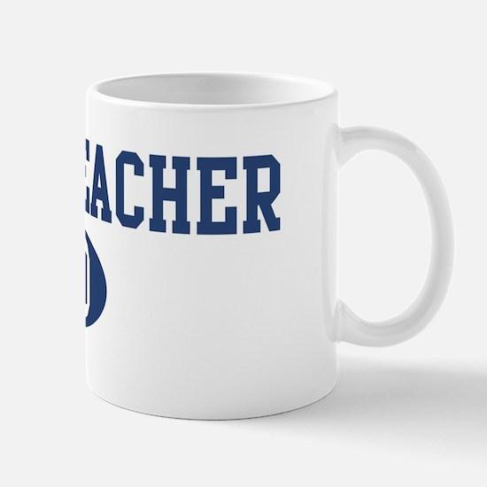 Music Teacher dad Mug
